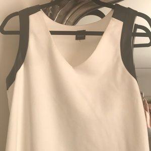 White classy sleeveless top